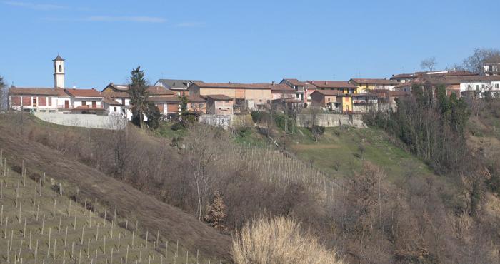 Laiolo village of Noche, Vinchio