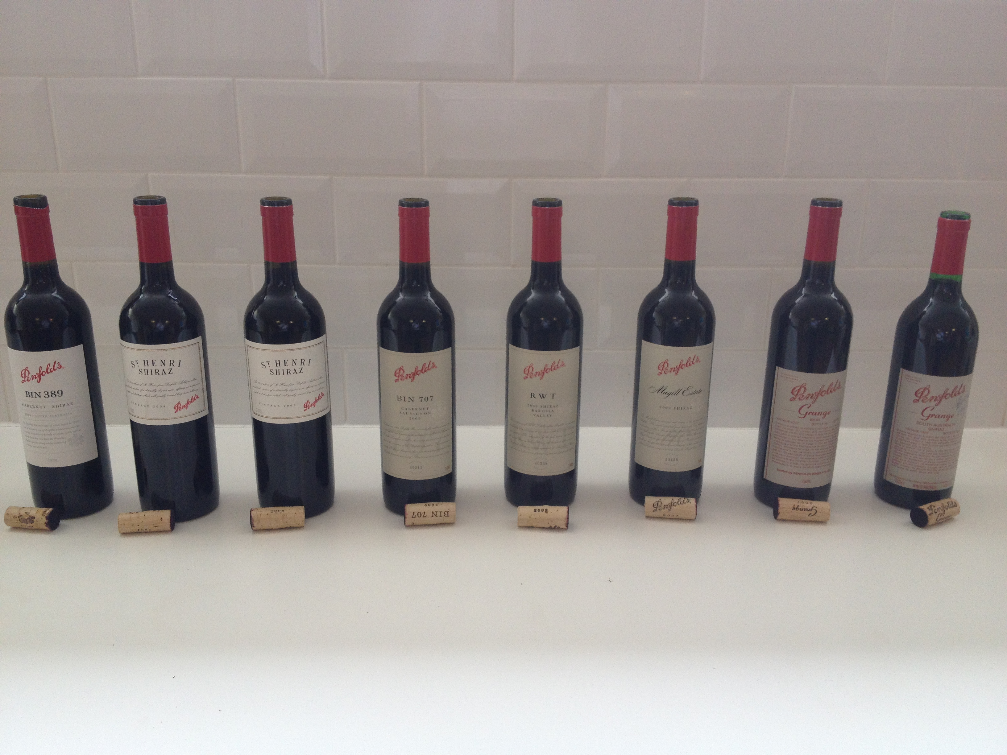The Penfolds reds ready to taste