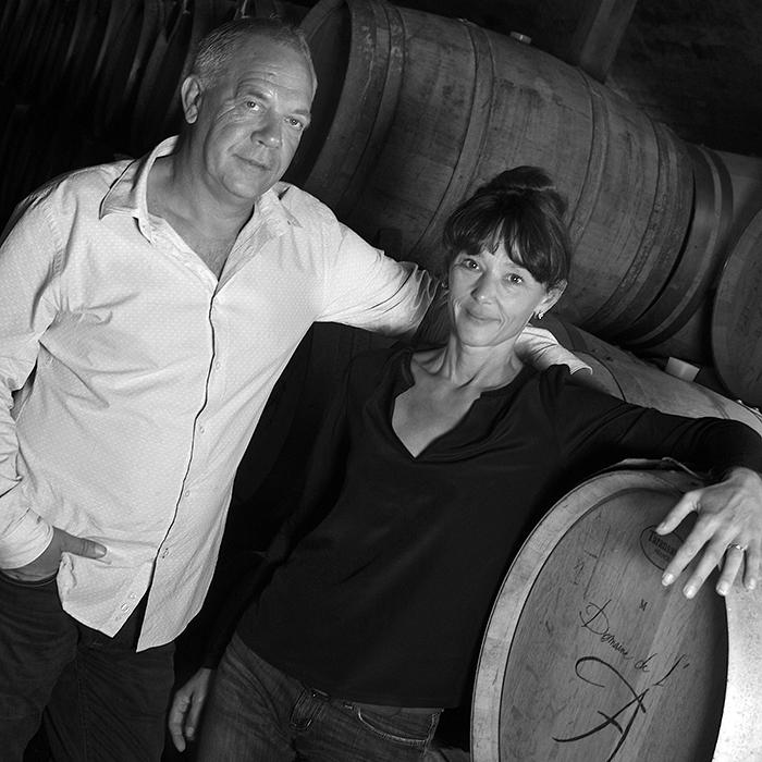Christine and Stéphane Derenoncourt, Domaine de l'A, Côtes de Castillon, Bordeaux