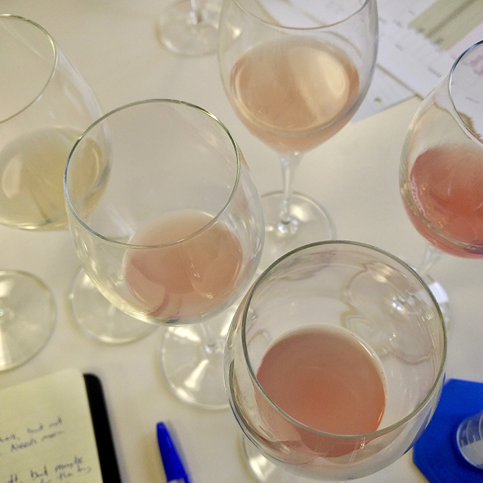 Blending Nyetimber's 2017 base wines