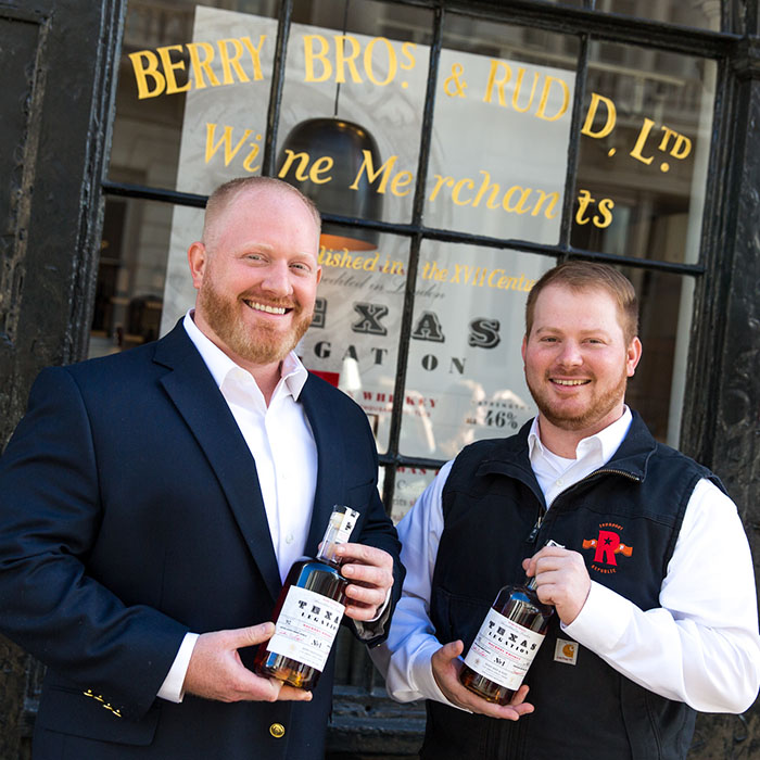 Bourbon brothers, Jonathan and Robert Likarish credit: Piers Cunliffe