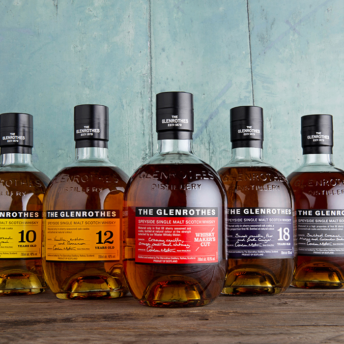 The Glenrothes' new Soleo Collection