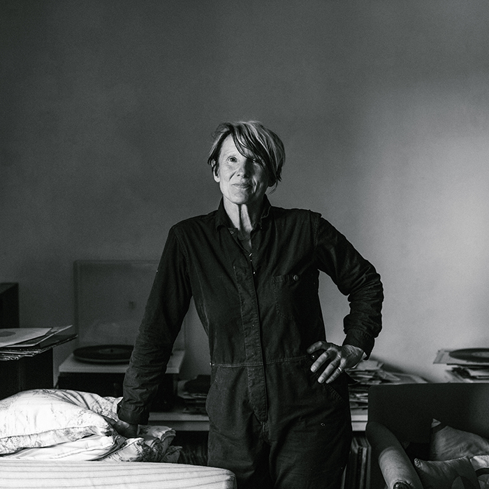 Kate Boxer, photographed by Elena Heatherwick, at her Sussex farm