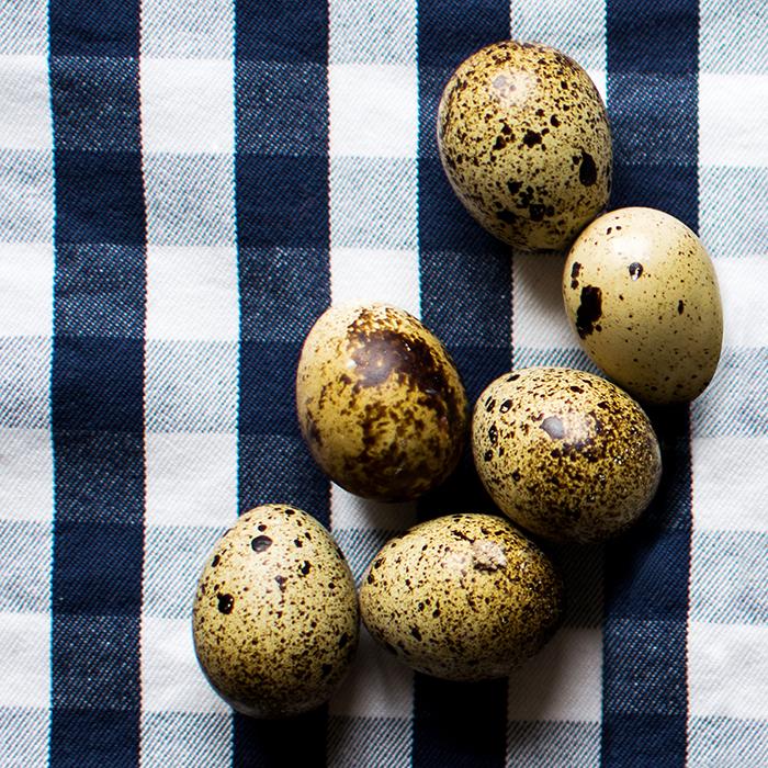Quail Eggs, Eggs Drumkilbo recipe
