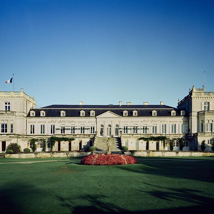 Château Ducru-Beaucaillou in St Julien, Bordeaux. Photograph: Jason Lowe