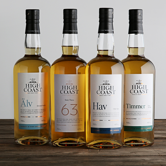 High Coast whiskies