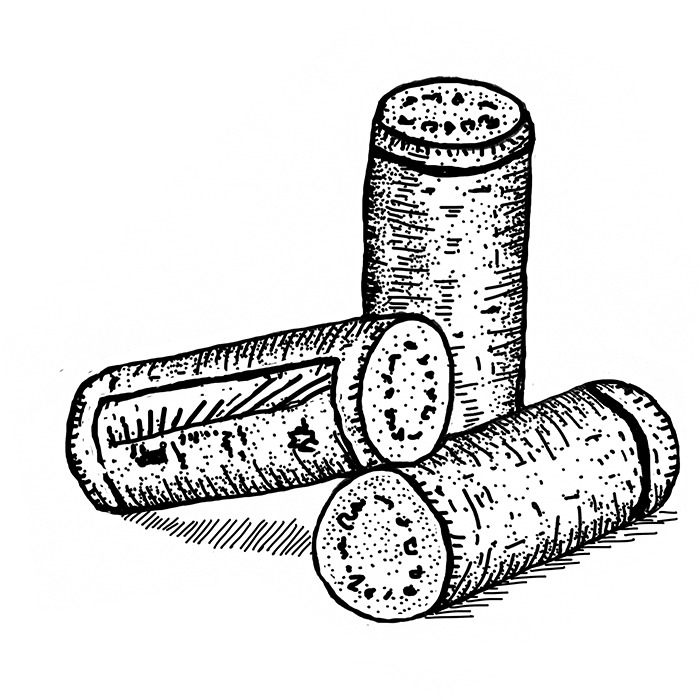 Corks. Illustration: Nicolas Boron