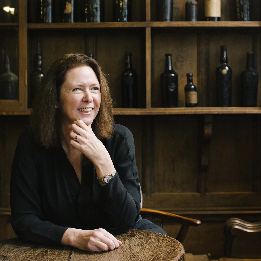 Jane Anson, photographed at Berry Bros. & Rudd