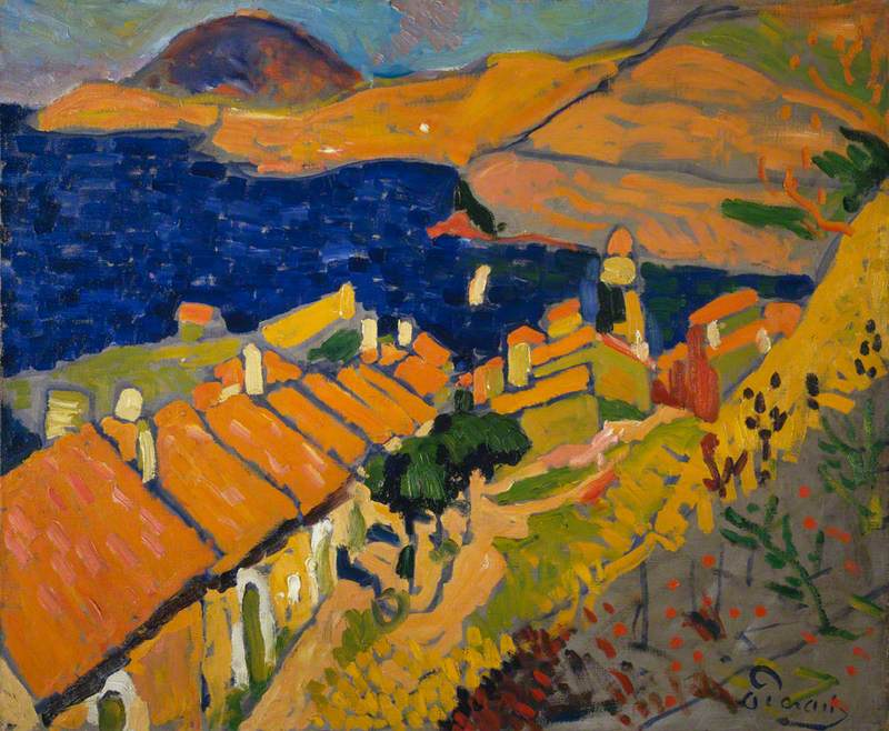 Collioure by André Derain Copyright:© ADAGP, Paris and DACS, London 2018
