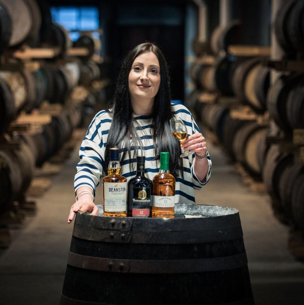 Julieann Fernandez, Master Distiller at Tobermory Distillery