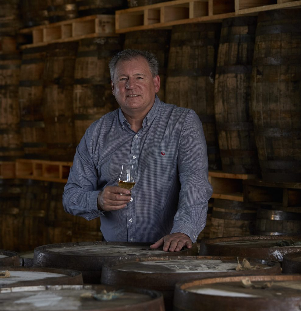 Andy Watts at James Sedgwick Distillery in Wellington, South Africa