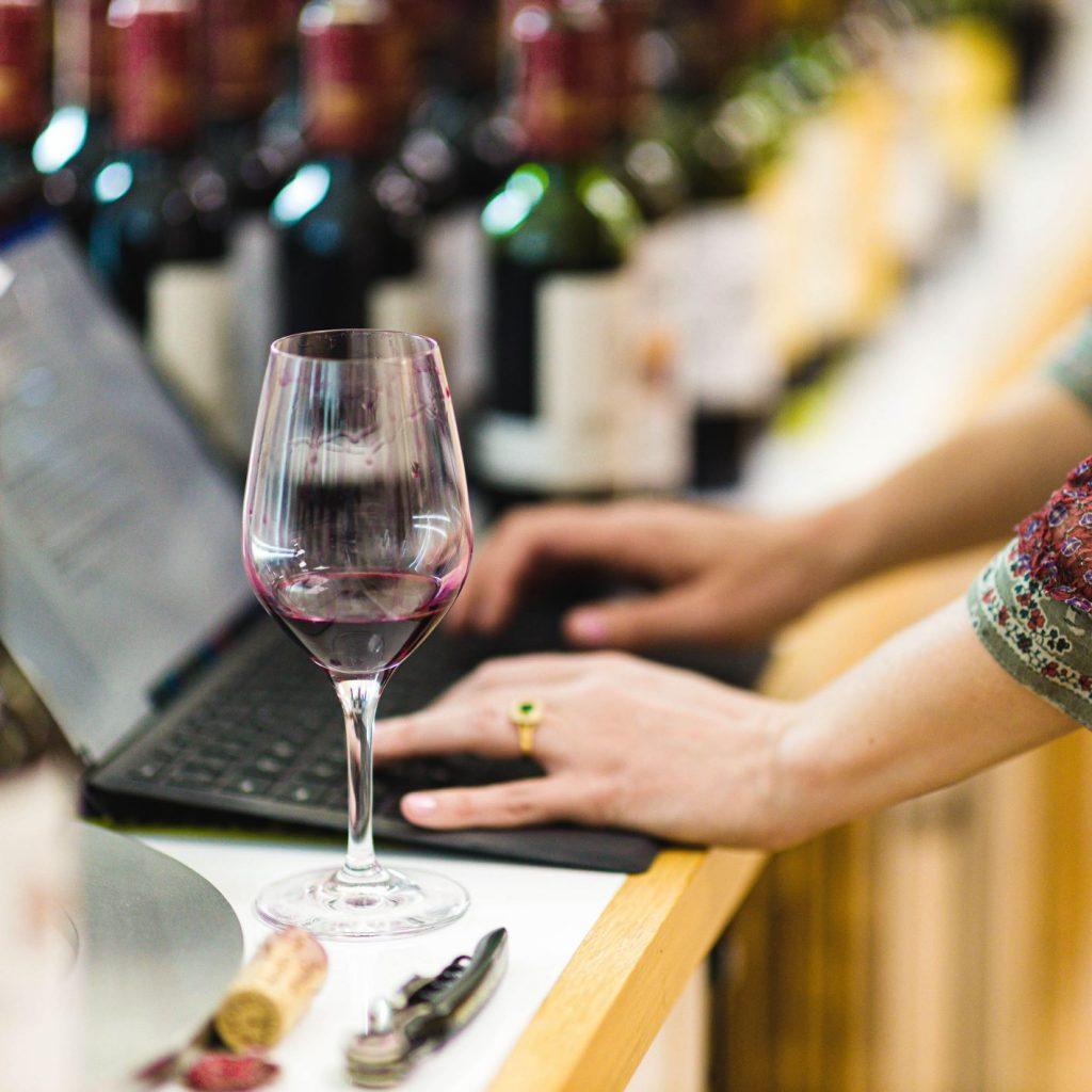 Tasting Bordeaux 2020 in our Basingstoke tasting room
