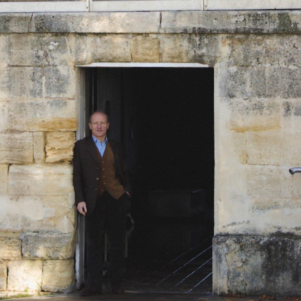 Antoine Darquey at Ch. Teyssier in Montagne-St Emilion.